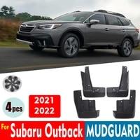 car mudflaps for subaru outback 2021 2022 mudguards fender mud flap guard splash mudguard acccessories auto styline front rear