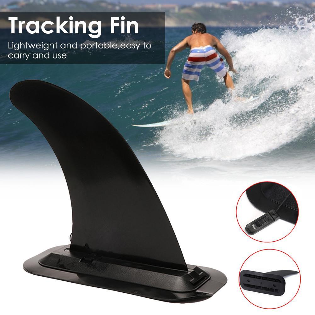 Tabla de Surf de aletas canoa paleta de Aquaplane Centro desmontable Surf Fin Kayak de seguimiento Centro Fin para inflable Paddleboard
