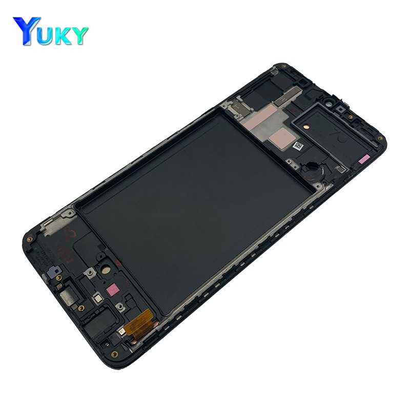 For Samsung Galaxy A70 LCD A705 A705F SM-A705F Display with frame Touch Screen Digitizer Assembly A70 2019 For SAMSUNG A705 LCD enlarge