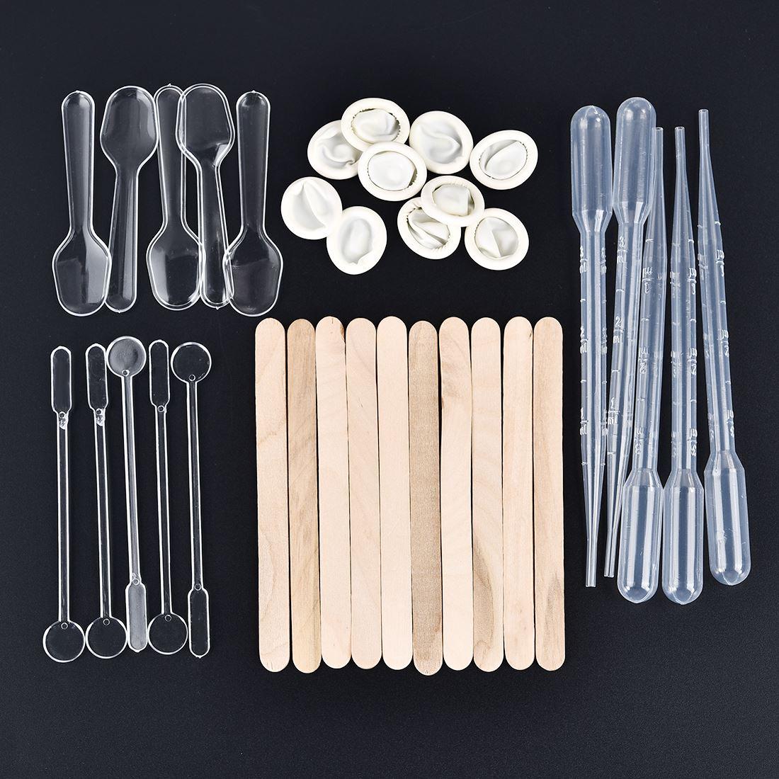 35 шт./компл. инструмент для изготовления формы из смолы «сделай сам», наборы для изготовления хрустальных УФ-отверждаемая эпоксидная смола ...