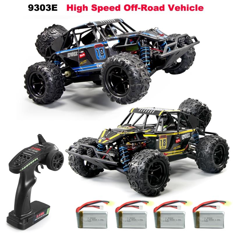 Lamsam-coche todoterreno de alta velocidad 9303E a escala 118, coche de escalada de 40 km/h, juguete para niños y adultos con mando a distancia