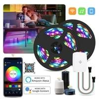 dc 12v wifi addressable ws2811 smart pixel led strip light kit magic home wifi voice control 5m 10m 15m 20m 5050 rgb ic led tape