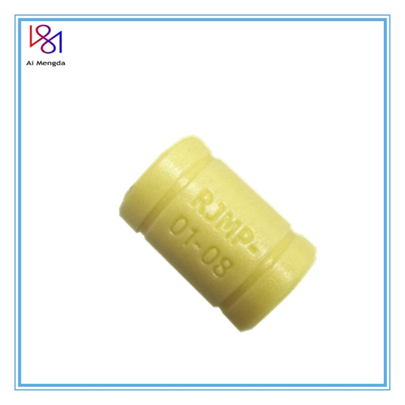 10 sztuk 3D drukarki stały polimer łożyska RJMP-01-06 RJMP-01-08 RJMP-01-10 RJMP-01-12 z tworzywa sztucznego łożyska liniowe dla 3D części drukarki