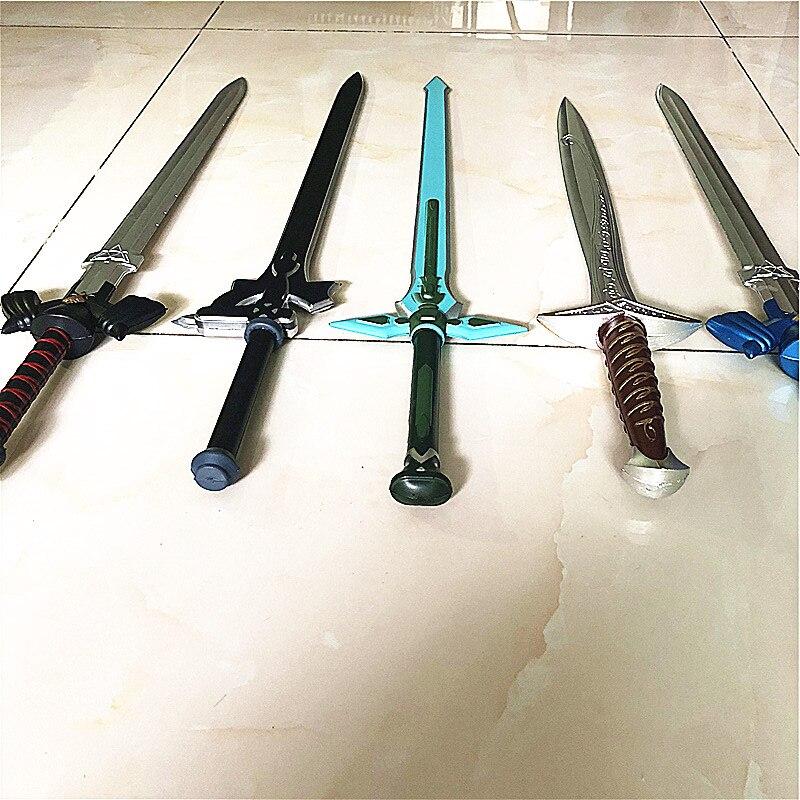 Espada de arte en línea SAO Kirito / Kirigaya Kazuto Elucidator/Repulsor oscuro/Espada negra cosplay anime espada pu SAO32