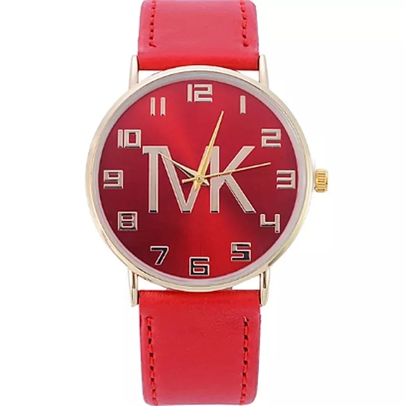 Reloj Mujer 2020 Top Brand Tvk High Quality Fashion Womens Watch Simple Casual Leather Quartz Wristwatch Unisex Gift