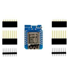 ESP8266 ESP-12 ESP-12F CH340G CH340 V2 USB WeMos D1 Mini carte de développement WIFI D1 Mini NodeMCU Lua IOT carte 3.3V avec broches