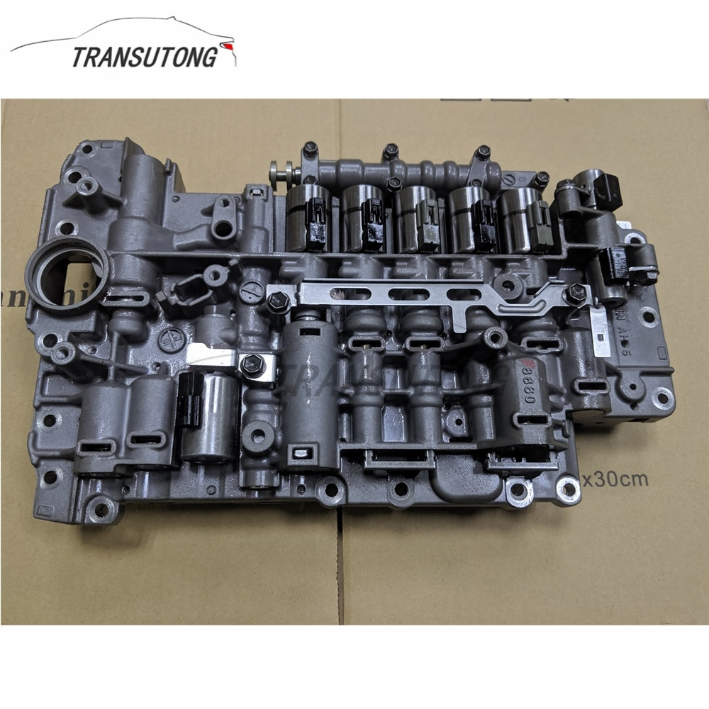 Cuerpo de válvula de caja de cambios de transmisión automática 09D TR60SN para VW Audi Porsche (distingue con o sin Sensor de presión)