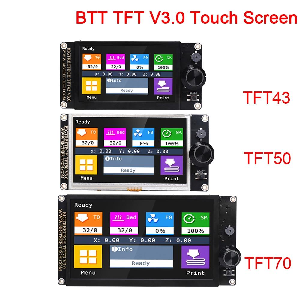 BIGTREETECH TFT43 TFT50 TFT70 TFT28 V3.0 اللمس شاشة 12864LCD 3D طابعة أجزاء TFT35 MKS TFT70 ل اندر 3/5 SKR V1.4 البسيطة E3