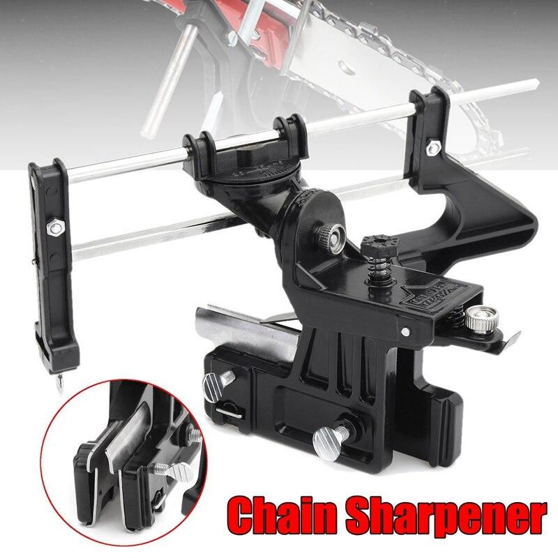 Serra de corrente de tira apontador de corrente guia rápido ferramenta arquivo motosserra afiar barra manual ferramenta apontador precisão