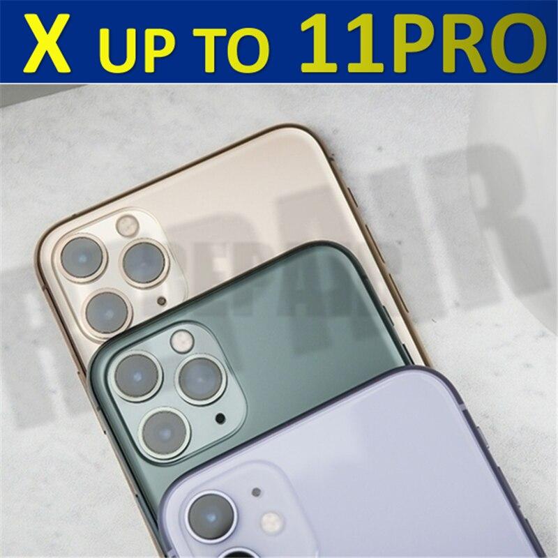 Задняя крышка для iPhone X XS Xsmmax iphone x в 11 pro