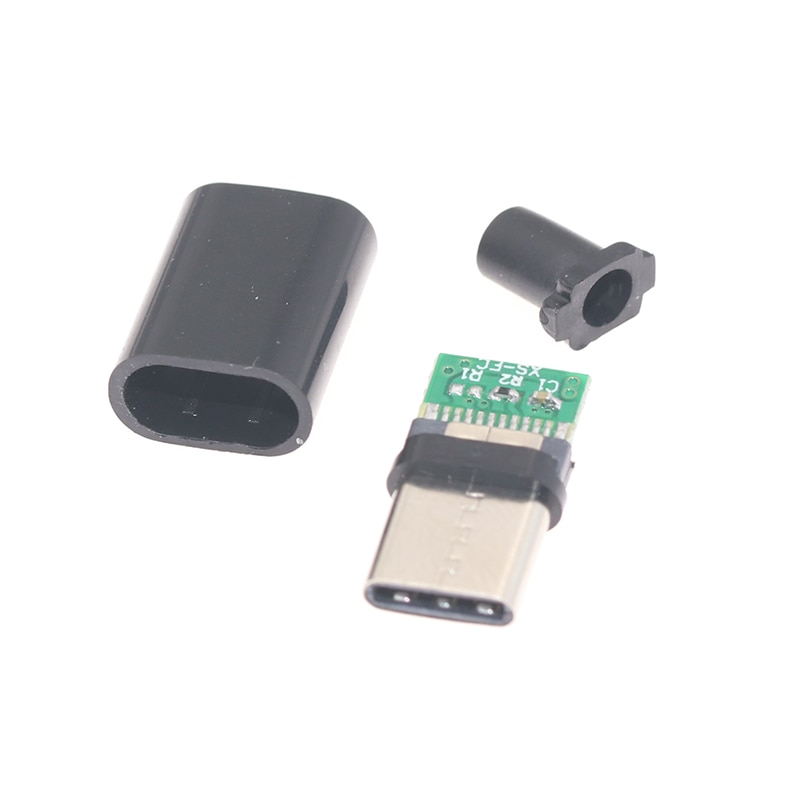 2pcs/5pcs TYPE-C USB Plug Male connector With PCB 24pin welding Data line interface DIY data cable a