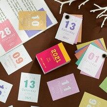 2021 Mini ofis rétro ev aksesuarlarí masaüstü dekorasyon çalışmasí programme 365 jours pour faire liste livre