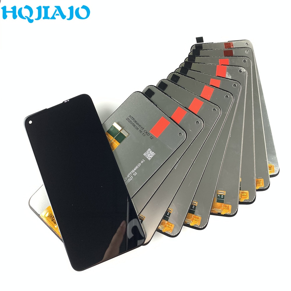 10 قطعة الأصلي لسامسونج A11 A115F A115F/DS LCD شاشة تعمل باللمس الجمعية لسامسونج A11 LCD