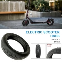 8 5 inch electric scooter tires 5075 6 1 rubber tubeless tireshock absorber explosion proof tubeless tires for xiaomi m365