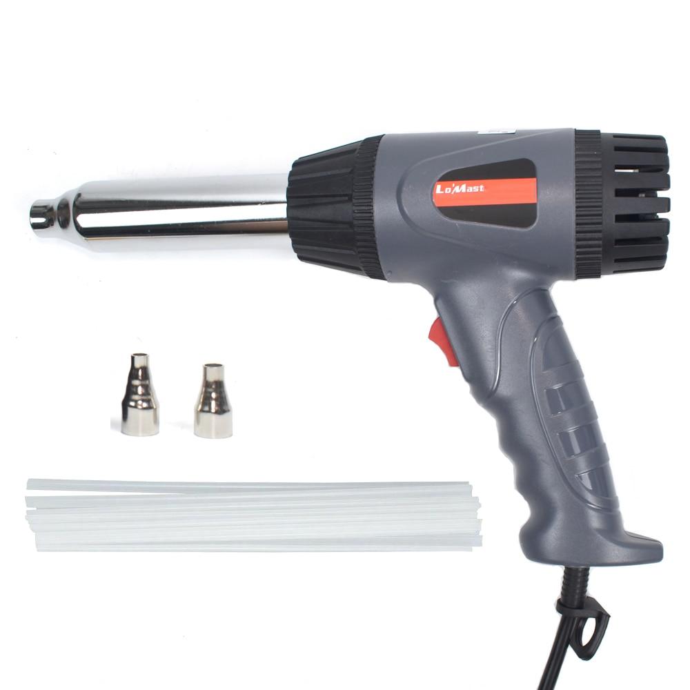 Plastic Gun Welder Hot Air Gun With 15m PP Plastic Welding Rods