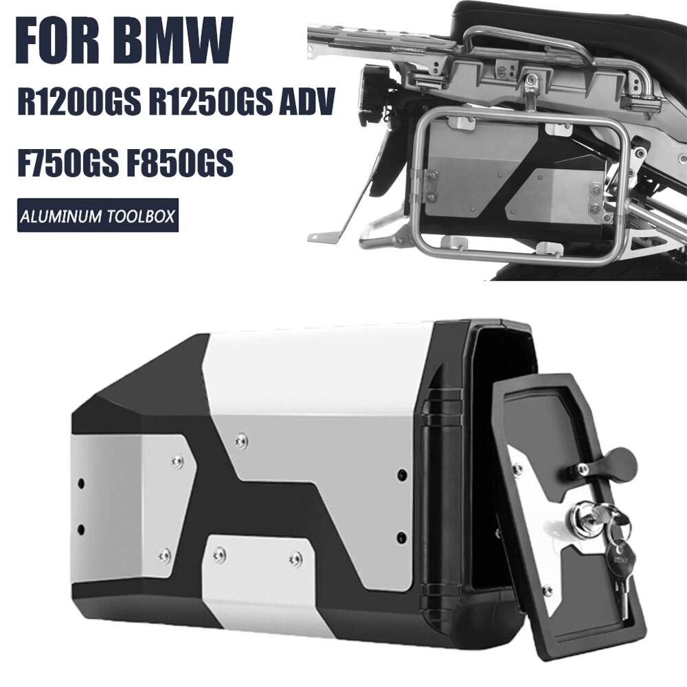 For BMW R1200GS R1250GS Adventure R 1200 1250 GS R1200 LC ADV F850GS F750GS Aluminum Tool Box 4.2L Left Side Toolbox Inner Bag