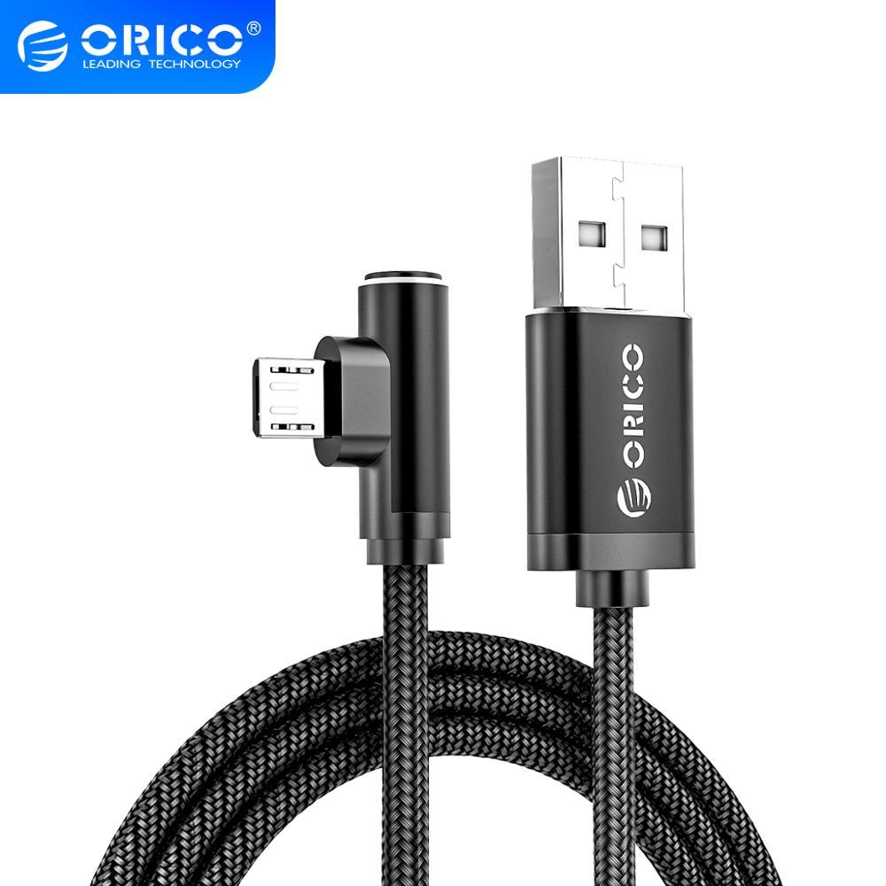 Micro USB кабель ORICO HTM для Samsung Galaxy Note 6/5/4/3 кабель для быстрой зарядки для Xiaomi Huawei