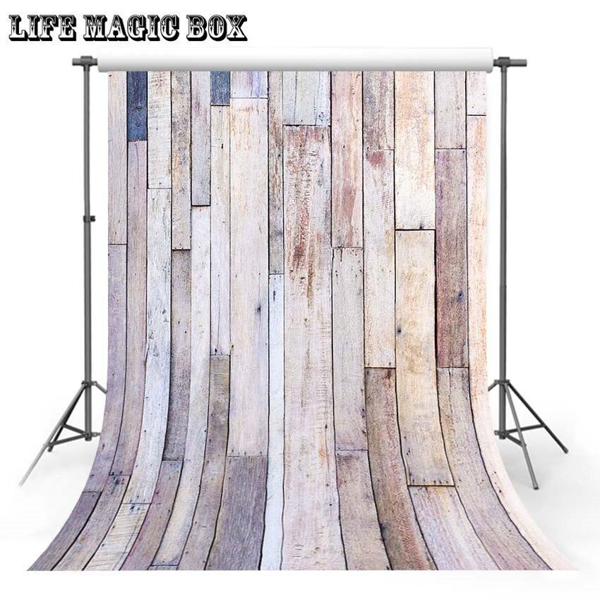 LIFE MAGIC BOX fondo para fotografías de pared de madera fondos increíbles telón de fondo de boda suelo-658