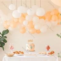 70pcs cream peach balloons garland chain diy wedding decoration matte white ballon arch kit baby shower birthday party decor