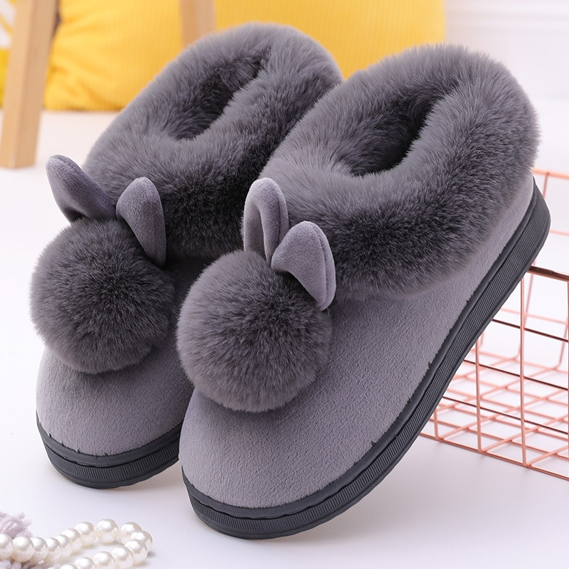gienig 2018 summer men slippers a simple one with a thick bottomed leisure cool trend student anti skid wear resistant home 2020 New Couples Cotton Slippers Indoor Household Warm Cover Anti-slip Floor Bedroom Thick Bottomed Home Plush  Sandals MTX2