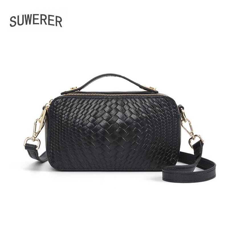 New Women Leather Shoulder Crossbody Bags For Women Genuine Leather Handbags Luxury Handbags Women Bags Designer Famous Brand