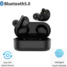 New TRN T200 TWS Bluetooth Earphoned 5.0 QCC3020 Touch control IPX5.0  Hybrid Drivers Earphone Support Aptx/AAC/SBC Apt-x V5.0