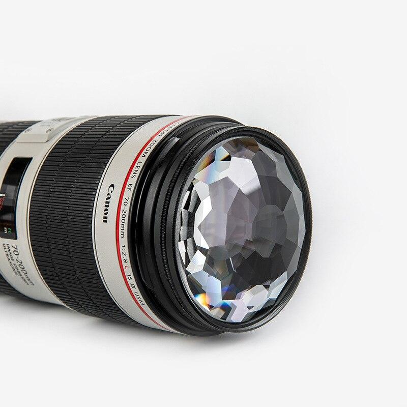 Kaleidoscope كاميرا عدسة تصفية 52 55 58 62 67 72 77 82 مللي متر التصوير الملحقات المنشور عدة Nd UV متغير كائن كاميرا مرشح