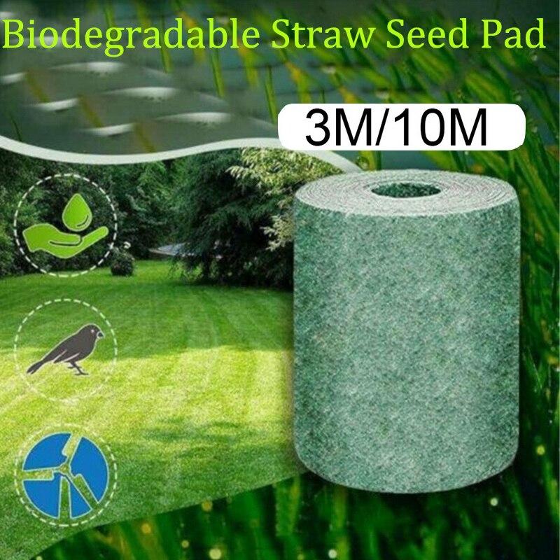 Biodegradável Semente a Semente da Grama Tapete de Grama Crescer Rolo Tapete Tapete Para Gramados Jardim Quintal Suprimentos #1