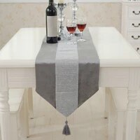 wedding decoration rectangle kitchen modern birthday runners outdoor party decoration table runner luxury home decor