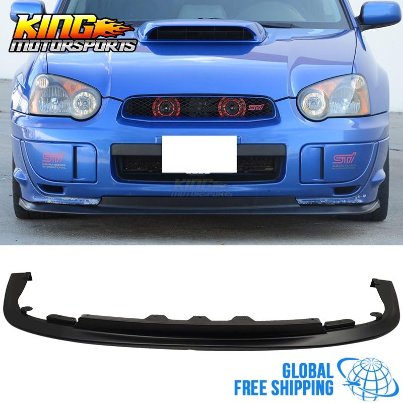 Fit For 04-05 Subaru Impreza WRX STI V-Limited Front Bumper Lip PP Global Free Shipping Worldwide