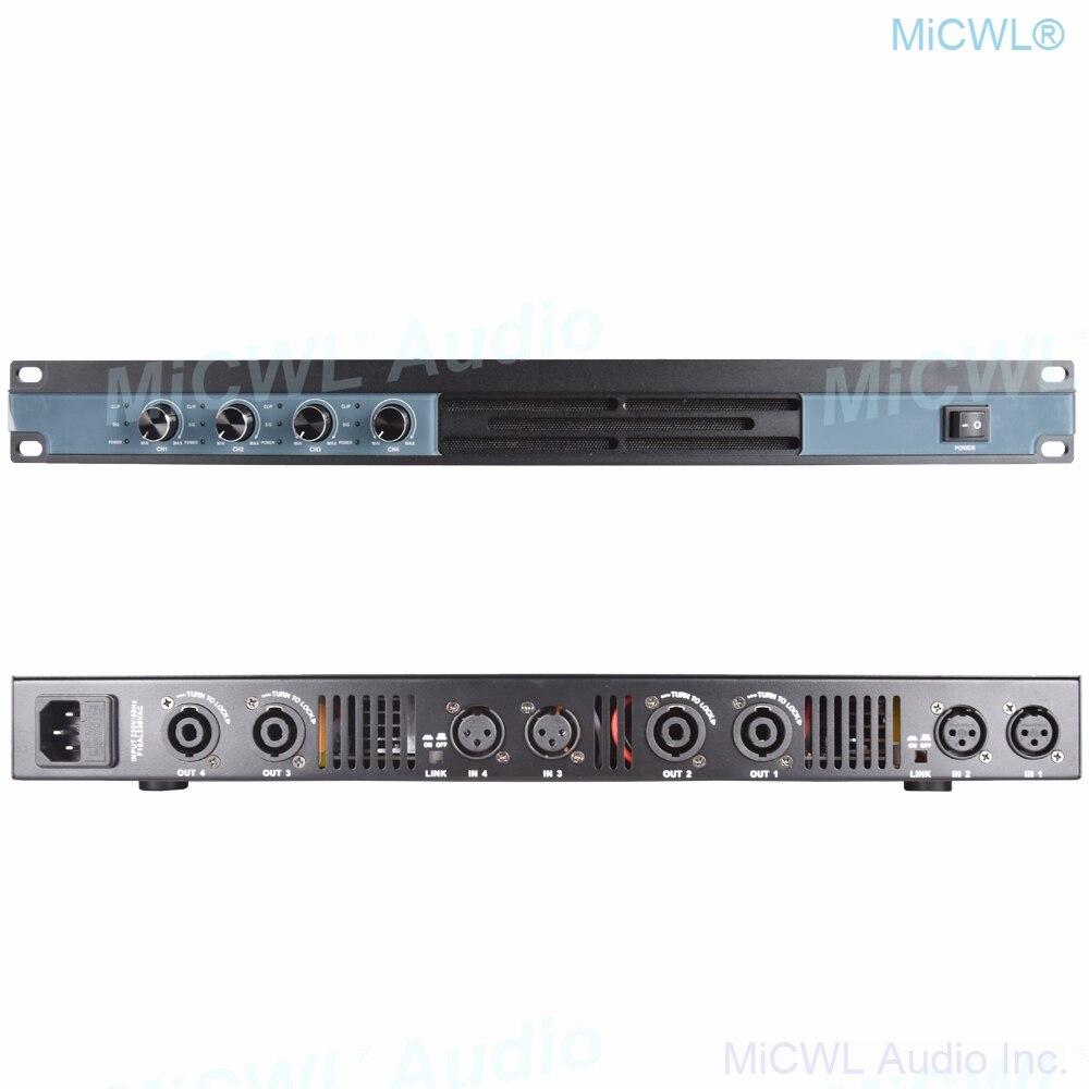 MiCWL 5200W السلطة مكبر للصوت 4 قناة الرقمية مرحلة الصوت المتكلم أمبير مكبر للصوت 2600 واط 2 قناة محطة مكبر للصوت