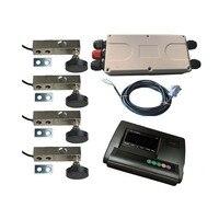 אנגלית גרסה DIY קטן בקנה מידה מלא סט אביזרי עומס מטר תא עומס YZC-320C/YZC-320 A12 מחוון XK3190-A12 + E