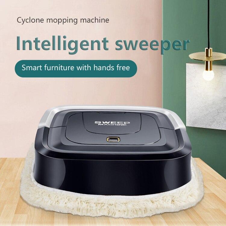 1Pc limpiando Robot de carga USB Mini mopa de casa inteligente automático perezoso limpiador limpia mopa especial de limpiador de la piscina