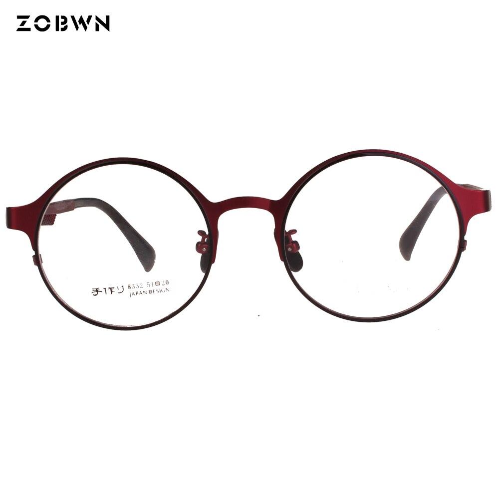 Round shape optical frame from eyeglasses manufacture armazones Men Women glasses retro Spectacles montures de lunette Leitura