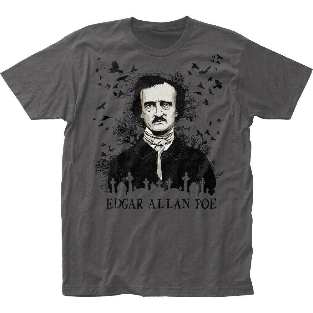 Edgar allen poe o corvo camisa t s a 2x