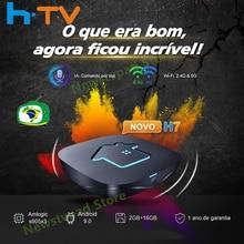 2021 Original htv box 7 brasil HTV7 H7 tv box HTV6 + HTV BOX 5 Tigre2 BOX H.TV 7 Brasilianisches Portugiesisch box