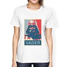 Modernos con estrellas guerra Vader camiseta de verano Mujer camiseta de las mujeres, Kawaii ropa de marca Harajuku Tee camisa Hipster tapas