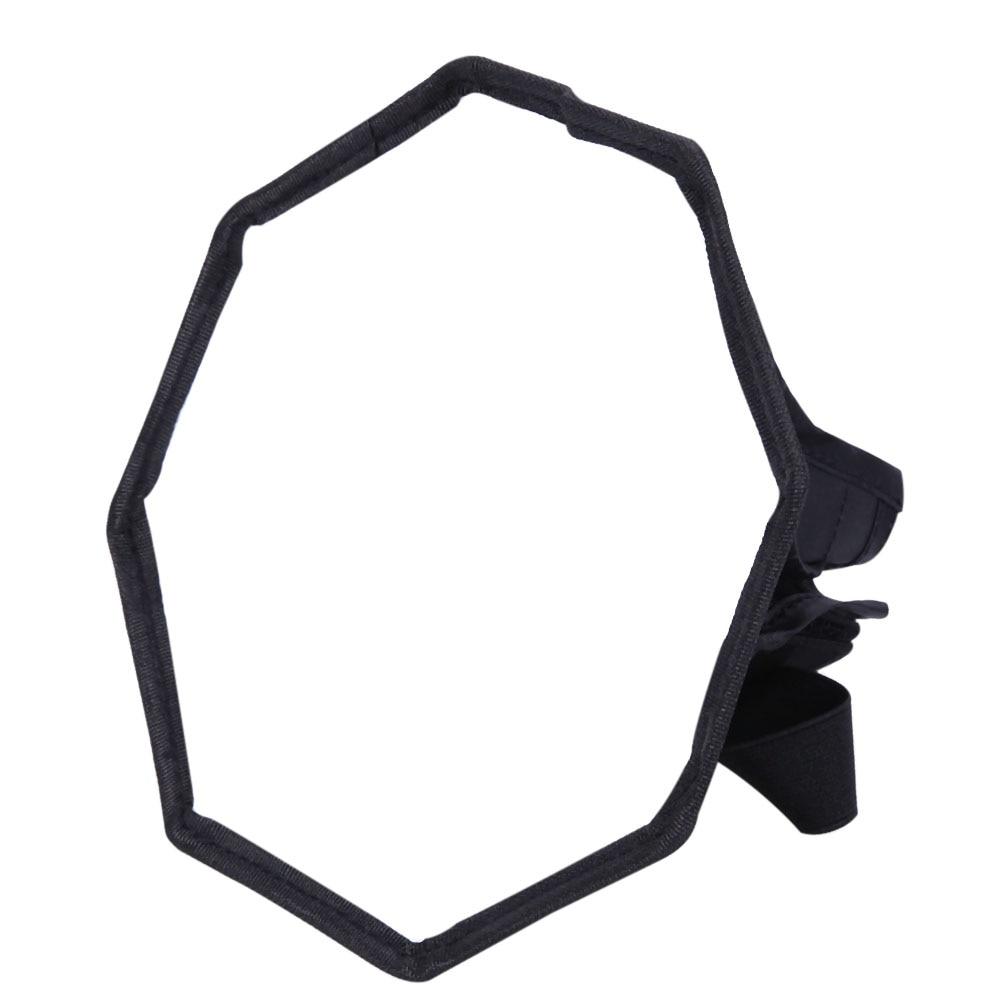 "Plegable Octágono Flash Softbox difusor fotográfico estudio Speedlite (30 cm/11,8 "") para Canon 580, denominada EXII/580EX/430, denominada EXII/430EX/550EX"