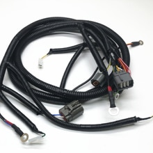 Fast Free shipping! Kobelco excavator sk200-6 motor Wire Harness- accessories -Kobelco SK-6 harness