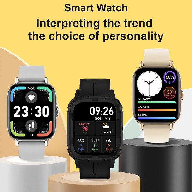Bluetooth Call Bracelet DT94 Smart Watch Men's Watches Sports Watch Women's Wristwatch Smartwatch Heart Rate Monitor Smart Clock