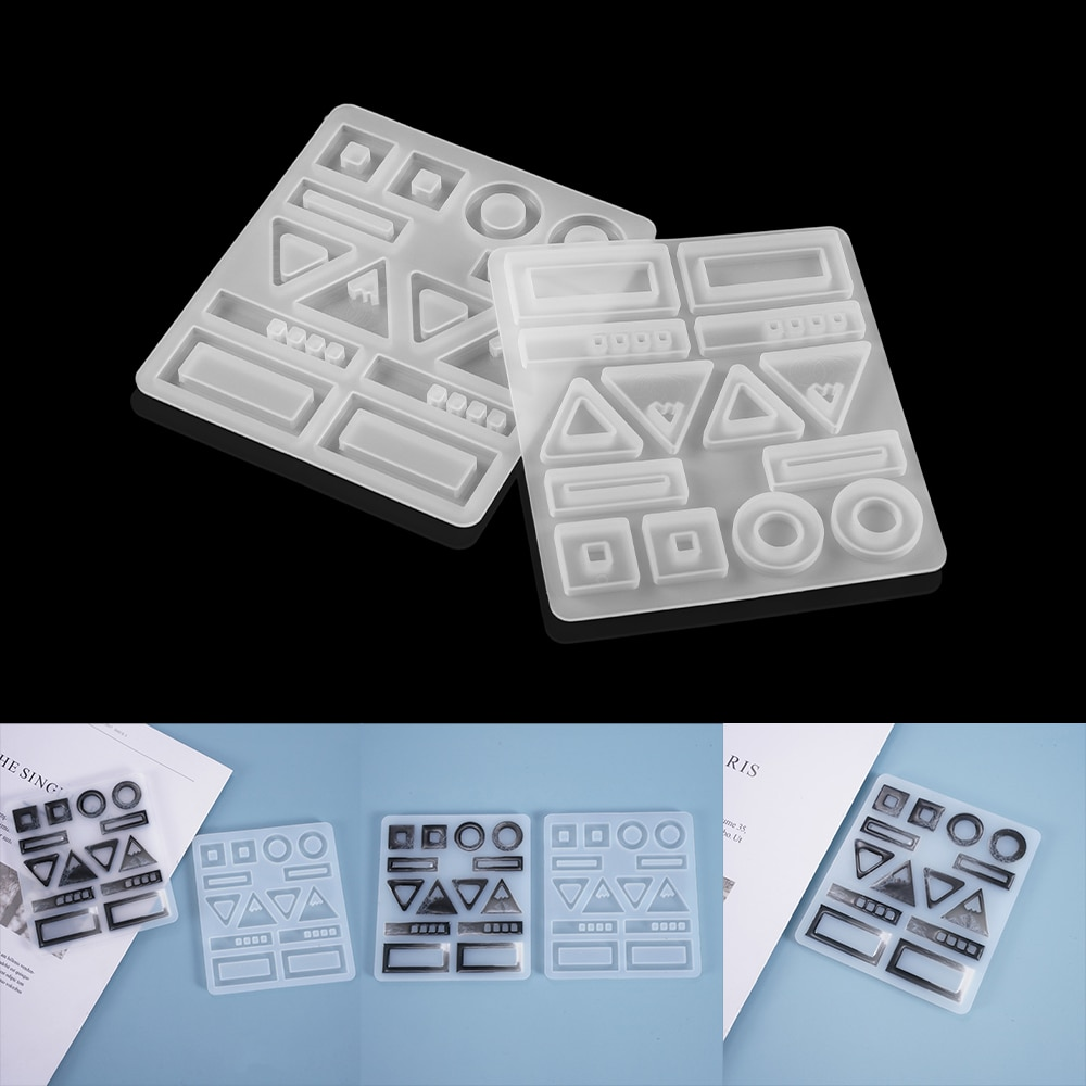 Earring Pendant Resin Molds Silicone Mold Dried Flower UV Resin Epoxy For DIY Jewelry Making Casting Moulds Jewelry Tool demixing pendant resin mold silicone mold casting molds epoxy uv jewelry making moulds jewelry making jewelry tools