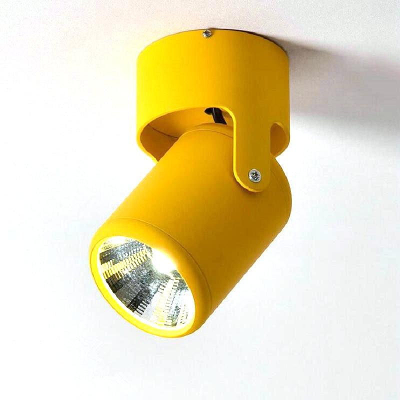 متعدد الألوان سطح شنت LED النازل عكس الضوء COB 10 واط 15 واط المنزلية والتجارية COB النازل