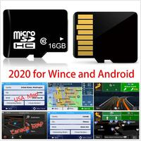 16GB Micro SD Card Car GPS Navigation 2020 Map Software for EuropeItalyFranceUKNetherlandsSpainGermanyAustriaUSA