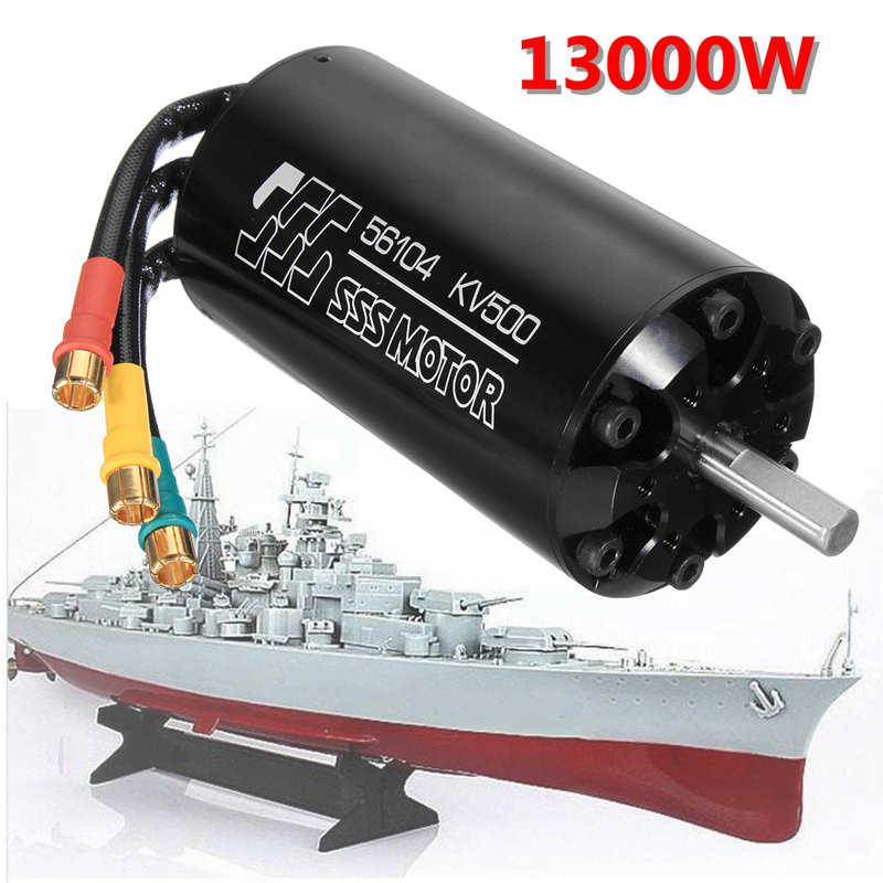Новый SSS 56104 KV420 KV500 KV790 KV1400 бесщеточный двигатель 6 полюсов с водяным охлаждением для FPV RC морских лодок электрическая доска для серфинга