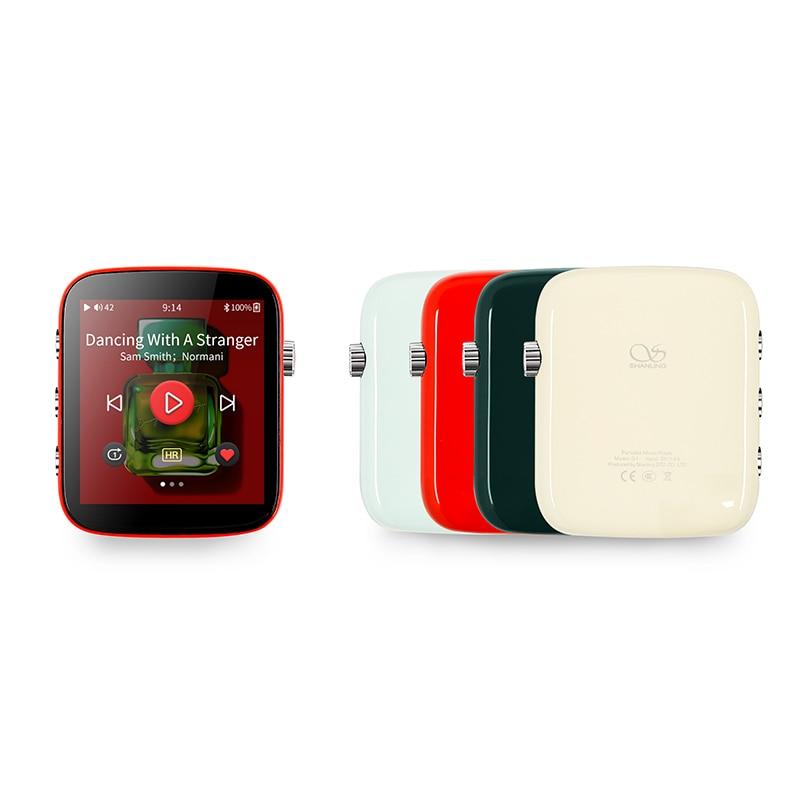 Shanling Q1 MP3 Music Player ESS ES9218P DAC/AMP Hi-Res HIFI With LDAC aptX Two-way Bluetooth USB DAC Function