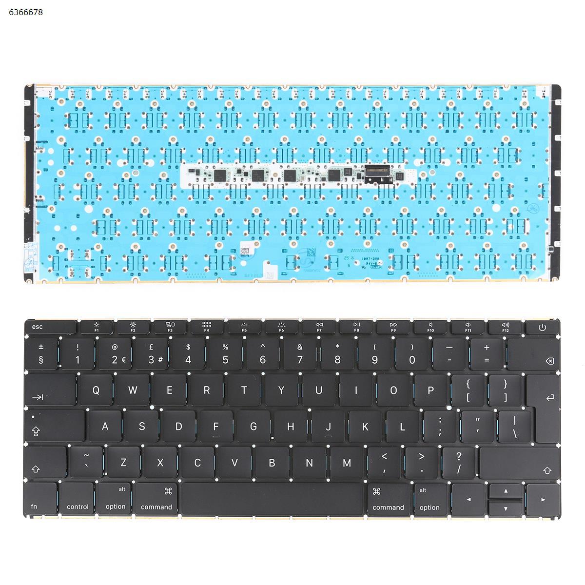 لوحة مفاتيح أصلية لجهاز Apple MacBook Core M 2015 12