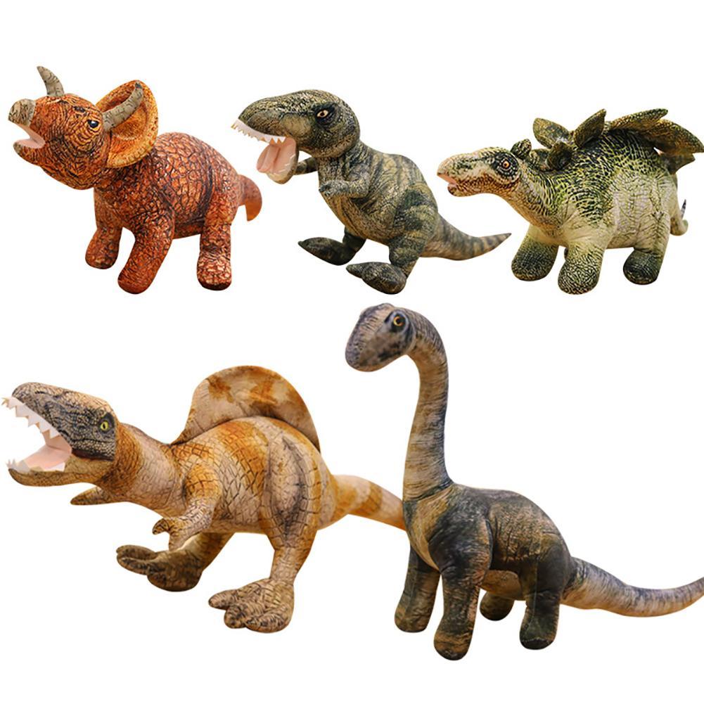 3D Simulated Spike Dragon Dinosaur Doll Soft Cotton Stuffed Toy Kids Ornaments