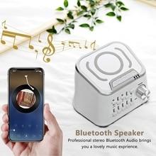 Machine son de sommeil avec charge sans fil   Bruit blanc, fonction Audio Bluetooth, peut mélanger 10 sortes de sons apaisants naturels
