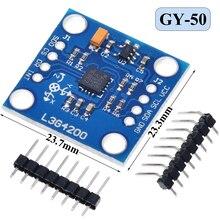 GY 50 L3G4200D трехосевой гироскоп Модуль датчика угловой скорости для Arduino MWC в наличии Высокое качество Интегральные схемы      АлиЭкспресс