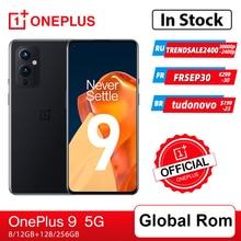 Global Rom OnePlus 9 5G Snapdragon 888 8GB 128GB Smartphone 6.5'' 120Hz Fluid AMOLED Hasselblad